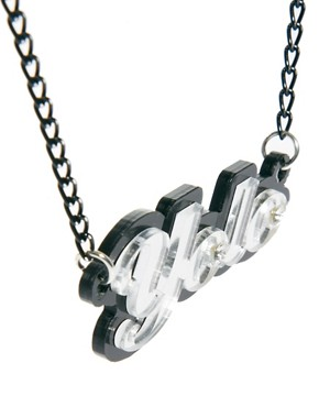 Image 4 ofFunky Bling Yolo Short Chain Necklace