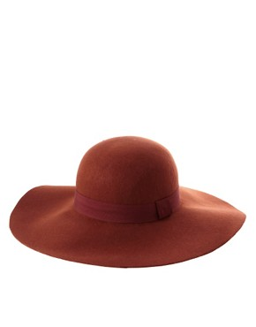 Image 2 ofASOS 70s Floppy Felt Hat
