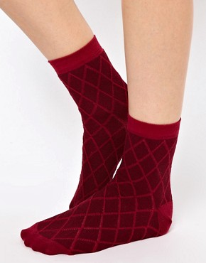 Image 2 ofASOS 3 Pack Multi Ankle Socks