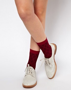 Image 1 ofASOS 3 Pack Multi Ankle Socks