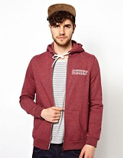 ASOS Chief Printed Zip Thru Hoodie