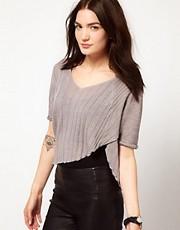 Improvd Sawyer Cropped Asymmetric Top