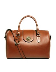 Bolso doctor bag de cuero Lexington de Whistles