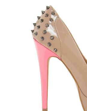 Image 4 ofKG By Kurt Geiger Kim Stud Back Shoes