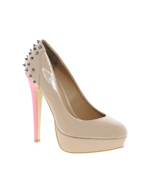 Image 1 ofKG By Kurt Geiger Kim Stud Back Shoes