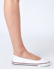 Converse All Star Dainty White Ballerinas