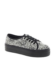 ASOS DERBY Flatform Trainers