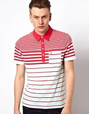Original Penguin Polo with Stripe