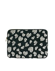 ASOS Heart Print Laptop Case