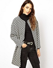 ASOS &ndash; Mantel mit geometrischem Muster