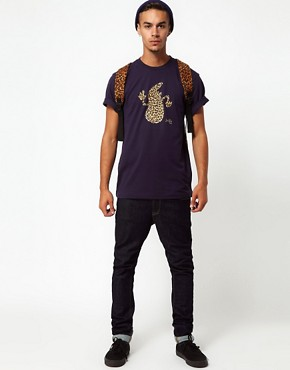 Image 4 ofLe Fix T-Shirt Leopard Print