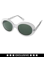 Jeepers Peepers Vintage Exclusive to ASOS Round Sunglasses