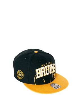 Image 1 of47 Brand Snapback Cap Boston Bruins