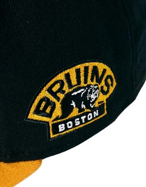 Image 2 of47 Brand Snapback Cap Boston Bruins