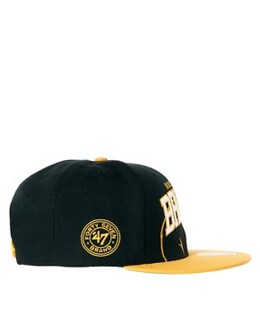 Image 4 of47 Brand Snapback Cap Boston Bruins
