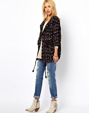 Image 4 ofFree People Ikat Parka Jacket