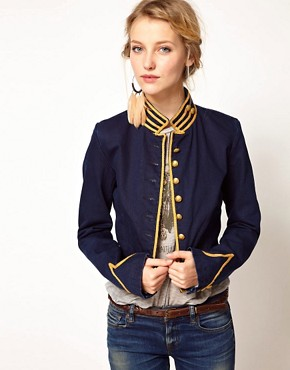 Image 1 ofDenim &amp; Supply By Ralph Lauren Military Jacket