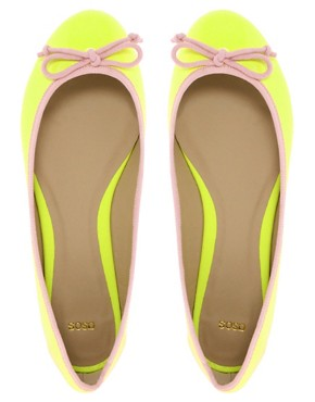 Image 3 ofASOS LUCY Ballet Flats