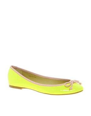 Image 1 ofASOS LUCY Ballet Flats