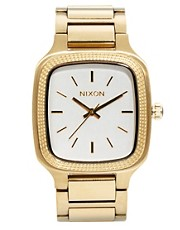 Nixon Shelley Gold Watch
