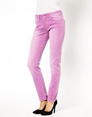ASOS - Elgin - Jean skinny ultra doux  dlavage couleur pivoine