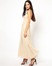 Little Mistress Strappy Maxi Dress