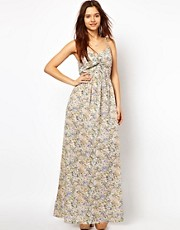 Numph Printed Maxi Dress