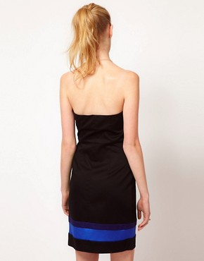 Image 2 ofKookai Cotton Sateen Bustier Dress