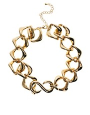 ASOS Luxe Chain Choker Necklace