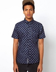 Bellfield Shirt With Star Print