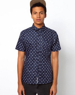 Image 1 ofBellfield Shirt With Star Print