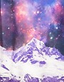 Image 3 ofASOS Sweatshirt with Space Mountain Print