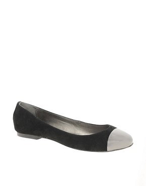 Image 1 ofOasis Toecap Ballet Flats