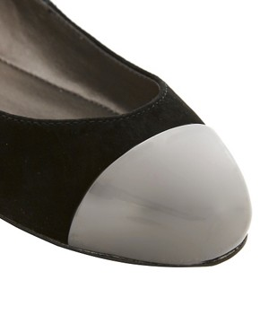Image 2 ofOasis Toecap Ballet Flats