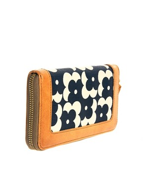 Image 2 ofOrla Kiely Big Zip Flower Dot Wallet