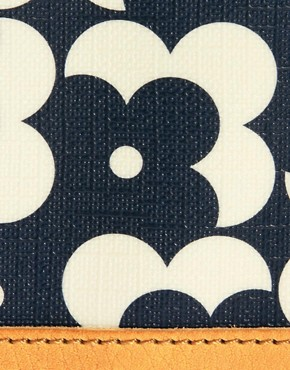 Image 3 ofOrla Kiely Big Zip Flower Dot Wallet