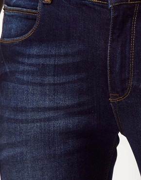 Image 3 ofASOS Skinny Jeans In Dark Wash
