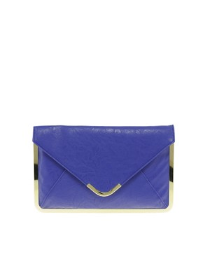 Image 1 ofASOS Metal Frame Clutch Bag