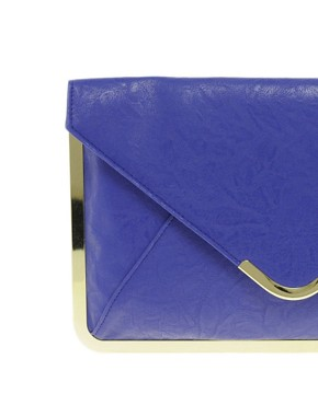 Image 4 ofASOS Metal Frame Clutch Bag