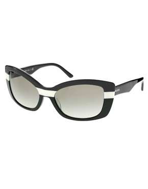 Image 1 ofPrada Striped Sunglasses