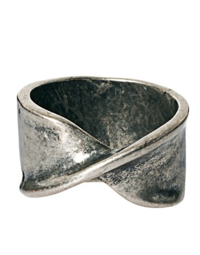 Image 3 ofASOS Twisted Metal Ring