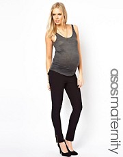ASOS Maternity Exclusive Trouser with Zips