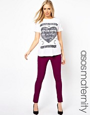 Pantaln con cremalleras exclusivo de ASOS Maternity