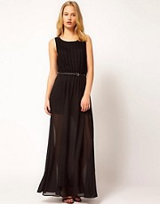 71 Stanton Knitted Crochet Maxi Dress With Belt