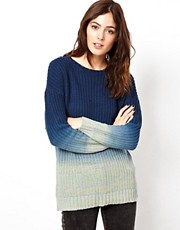 ASOS Dip Dye Jumper