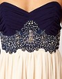 Image 3 ofLittle Mistress Lace Bustier Prom Dress