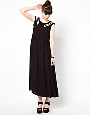The WhitePepper Sailor Midi Dress