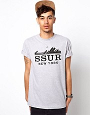 SSUR T-Shirt With Fast Life Print