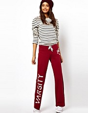Pantaln de chndal con logo universitario de ASOS