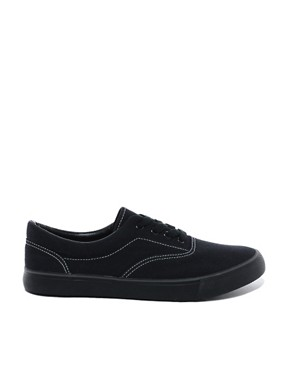 Image 4 ofASOS Plimsolls